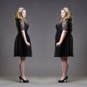 Sukienki wieczorowe XXL i różnice między nimi
